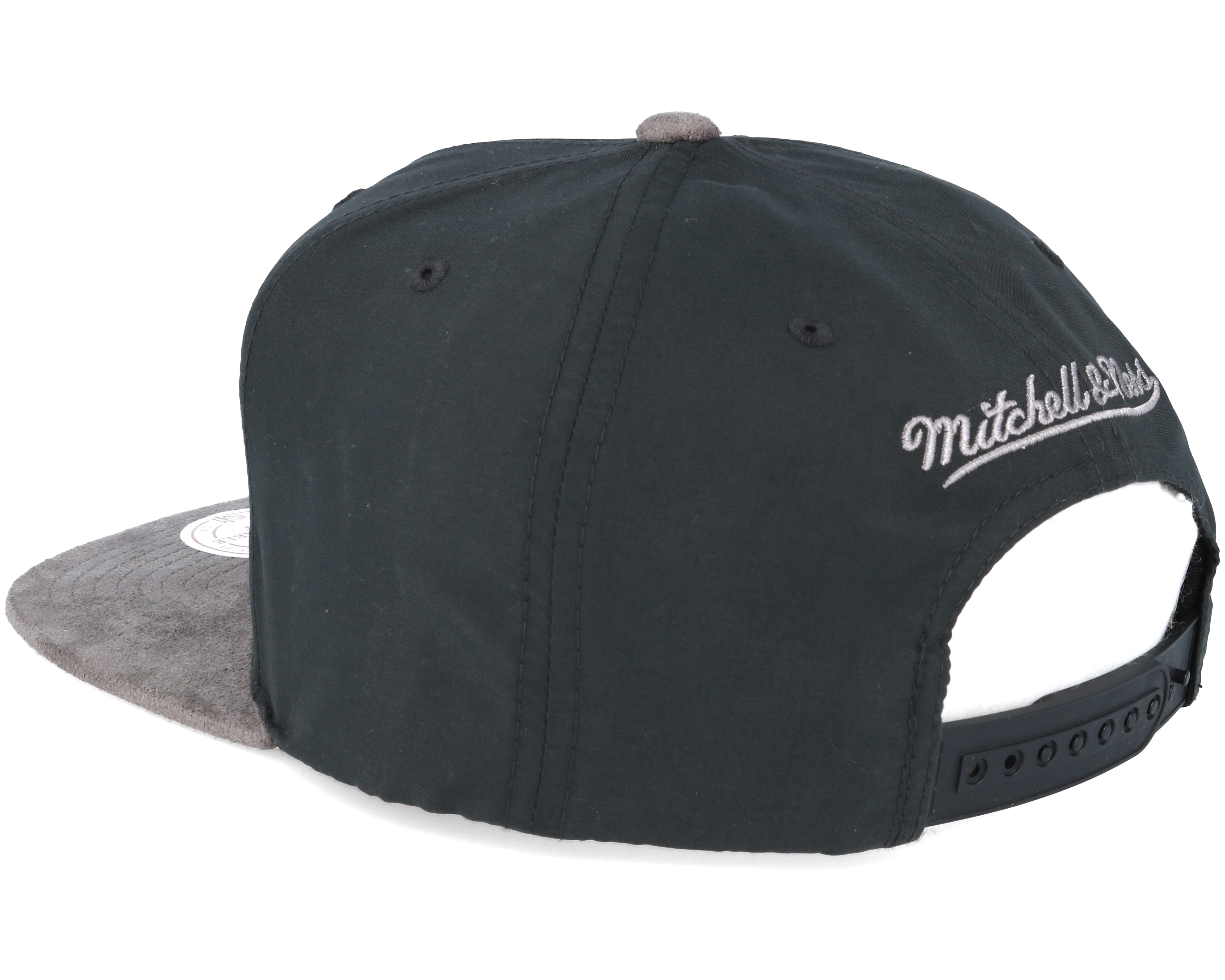 chicago bulls buttery charcoal grey snapback mitchell. Black Bedroom Furniture Sets. Home Design Ideas