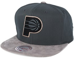 Indiana Pacers Buttery Charcoal grey Snapback - Mitchell & Ness