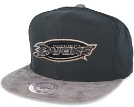 Anaheim Ducks Buttery Charcoal grey Snapback - Mitchell & Ness