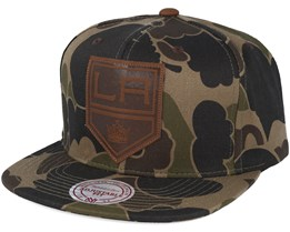 Los Angeles Kings Lux Camo Strapback Adjustable - Mitchell & Ness