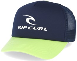 Corporate Navy/Lime Trucker Adjustable - Rip Curl
