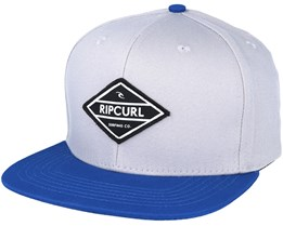 Undertow Diamond Grey/Blue Snapback - Rip Curl