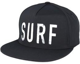 100% Rad Black Snapback - Rip Curl
