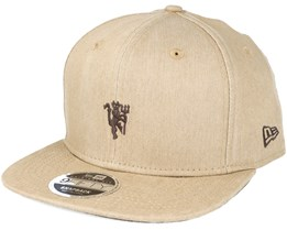 Manchester United Stone 9Fifty Beige Snapback - New Era