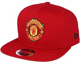 Manchester United Visor Print 9Fifty Red Snapback - New Era