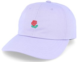 Rose Hat Lilac Purple Adjustable - The Hundreds