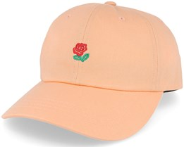 Rose Hat Soft Orange Adjustable - The Hundreds