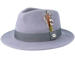 Martino Grey Fedora - Headzone