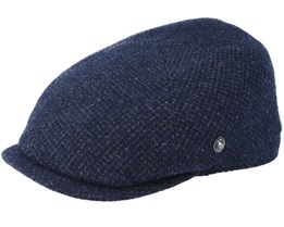 Sixpence Navy Flat Cap - City Sport