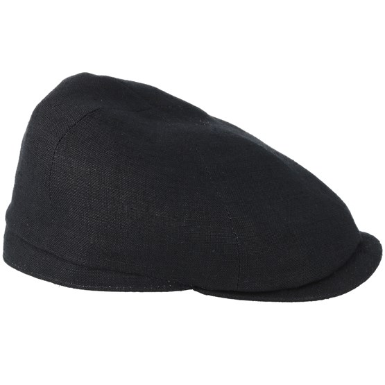 Sixpence Stripe Black Flat Cap - City Sport caps  37d06f7e01d
