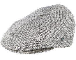 Sixpence Stripe 3X Grey Flat Cap - City Sport