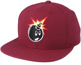 Adam Fushia Snapback - The Hundreds