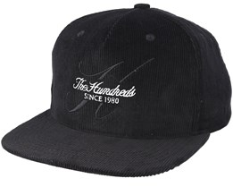 Hills Strapback Black Adjustable - The Hundreds