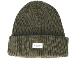 Crisp 2 Olive Beanie - The Hundreds