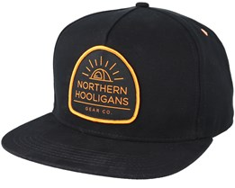Tent Black Snapback - Northern Hooligans
