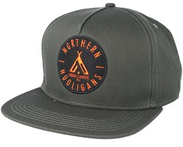 Urban Campers Olive Snapback - Northern Hooligans