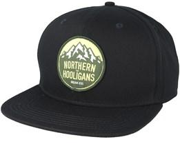 Summit Patch Black Snapback - Northern Hooligans