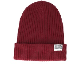 Coffee Shop Maroon Beanie - Northern Hooligans