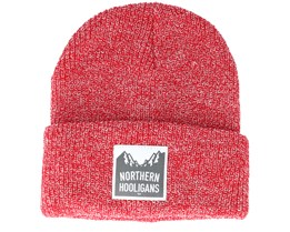 Summit Red Beanie - Northern Hooligans