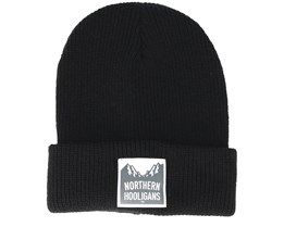 Summit Black Beanie - Northern Hooligans
