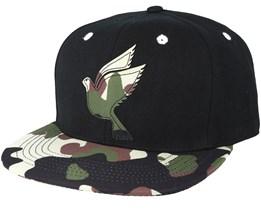 Save us Combo Black/Camo Snapback - Galagowear