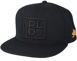 Norrland Black/Black Snapback - Sqrtn