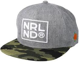Norrland Grey/Camo Snapback - Sqrtn