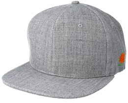 Cloudberry Side Grey Snapback - Sqrtn