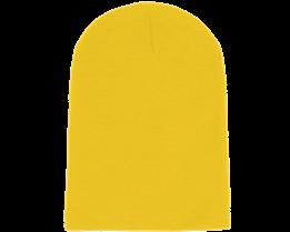 Long Beanie Yellow - Beanie Basic