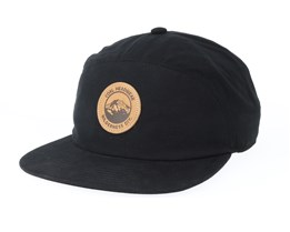 The Will Black Snapback - Coal