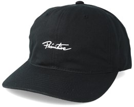 Slab P Snapback Black/White Adjustable - Primitive