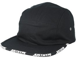 Taped 5 Panel Fall 17 Black/White Strapback - Hype