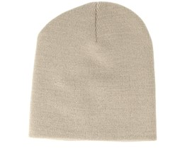Knitted Short Stone Beanie - Beanie Basic