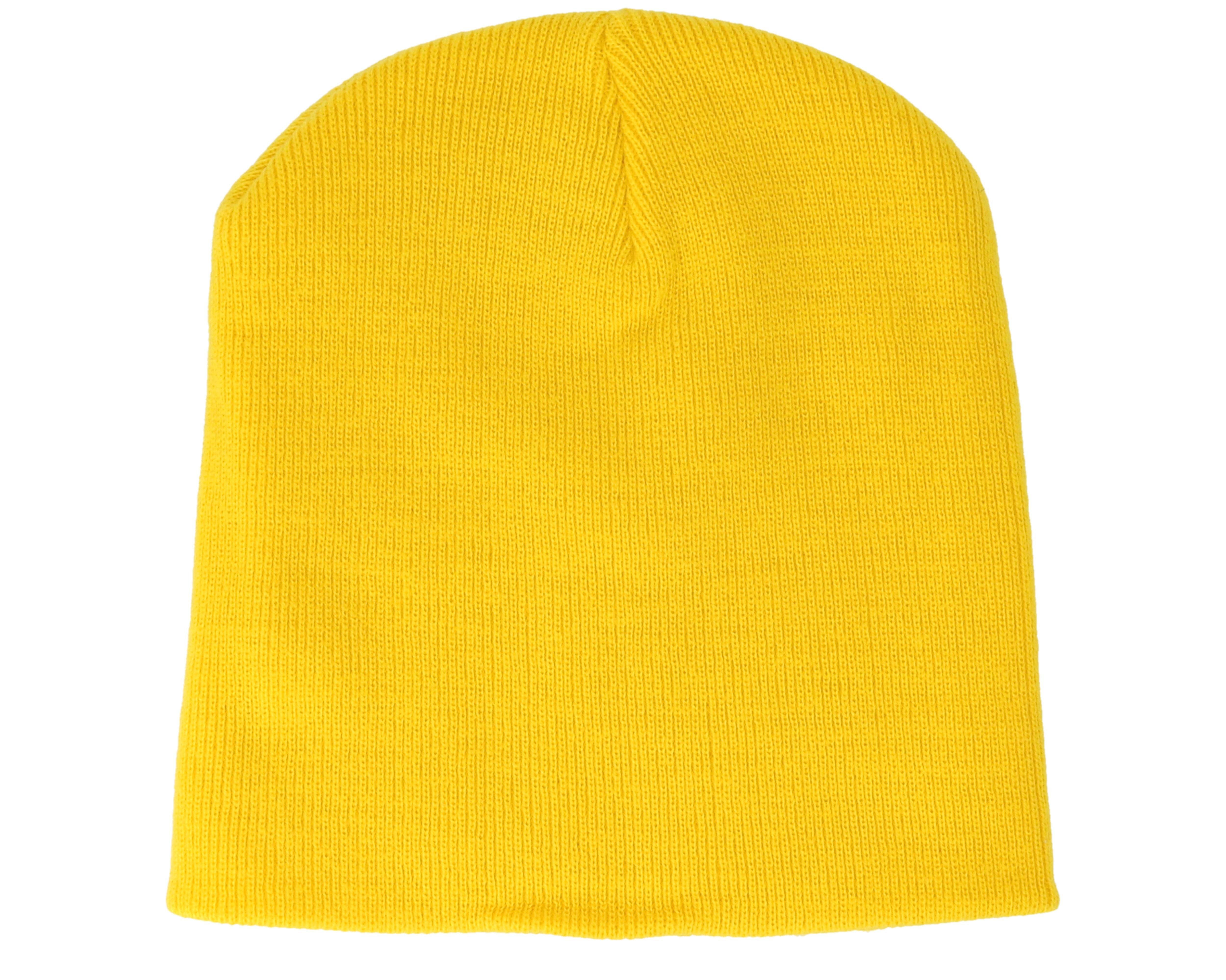 Original Pull-On Yellow Beanie - Beanie Basic beanies  18afe52ccf15
