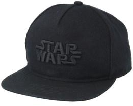 Star Wars Black Snapback - Hype