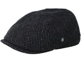 City Sport Sixpence Black/Grey Flatcap - City Sport