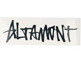 Sticker Clean Logo 7,5x15 CM White - Altamont