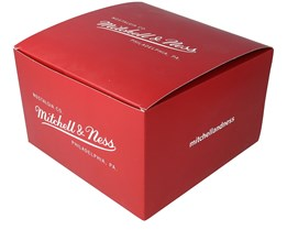 Nostalgia Gift Box 12x20 CM Red - Mitchell & Ness