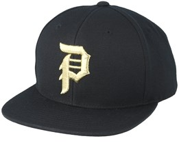 Dirty P Minor League Black Snapback - Primitive Apparel
