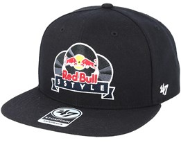 Red Bull 3Style Excusive Black Snapback - 47 Brand
