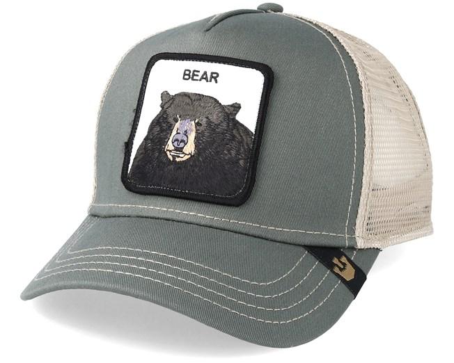 Black Bear Baseball Olive Trucker - Goorin Bros. lippis - Hatstore.fi 421e9cd347