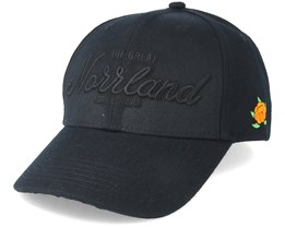 Great Norrland Hooked All Black Snapback - Sqrtn