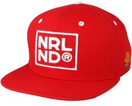 Nrlnd Red Snapback - Sqrtn