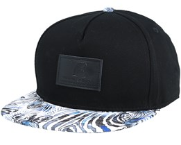 Kids Zebra Black Snapback - Young Enough