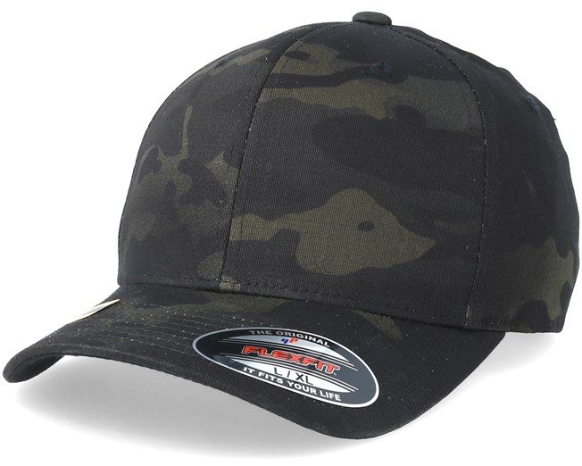 3f231a2c7fafb Multicam Black Camo Flexfit Flexfit Cap Hatstore De