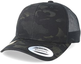 Multicam Black Camo Trucker - Yupoong