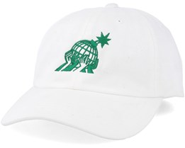 Brothers Dad Hat White Adjustable - The Hundreds