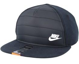 Kids Quilt CaplnC99 Black Snapback - Nike