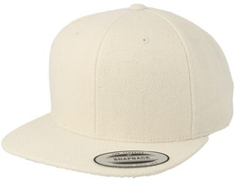 Natural Wool Snapback - Yupoong