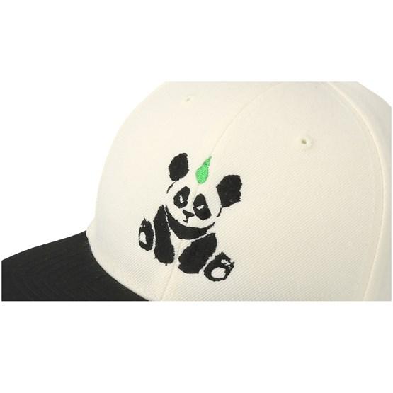 346e3edab6f Kids Panda White Black Kids Snapback - Kiddo Cap caps